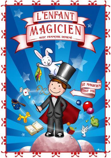 Affiche l enfant magicien franc ois 1